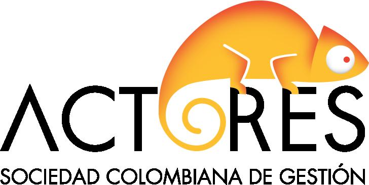 Logo Actores Sociedad Colombiana de Gestión
